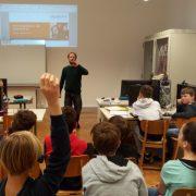 Mathias Wiener beim Safer Internet Workshop 1D